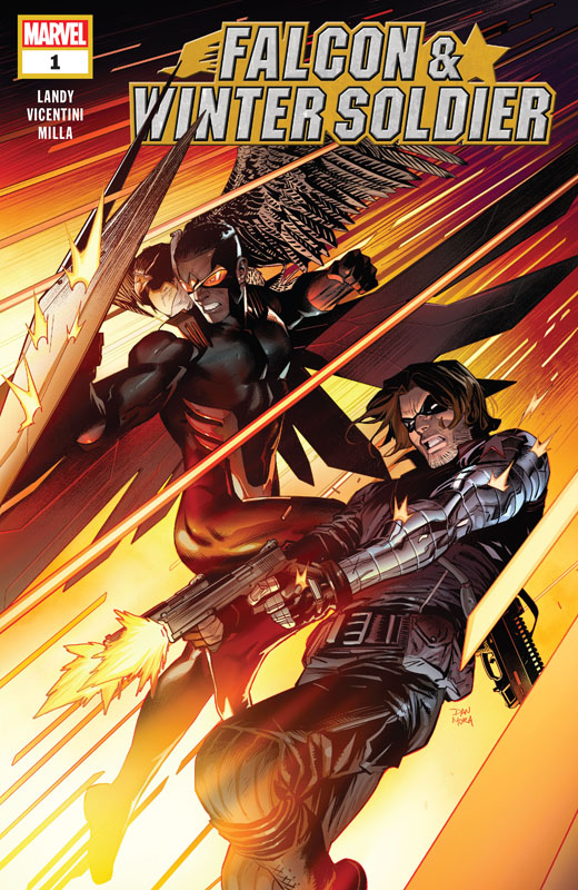 Falcon & Winter Soldier #1-5 (2020-2021) Complete