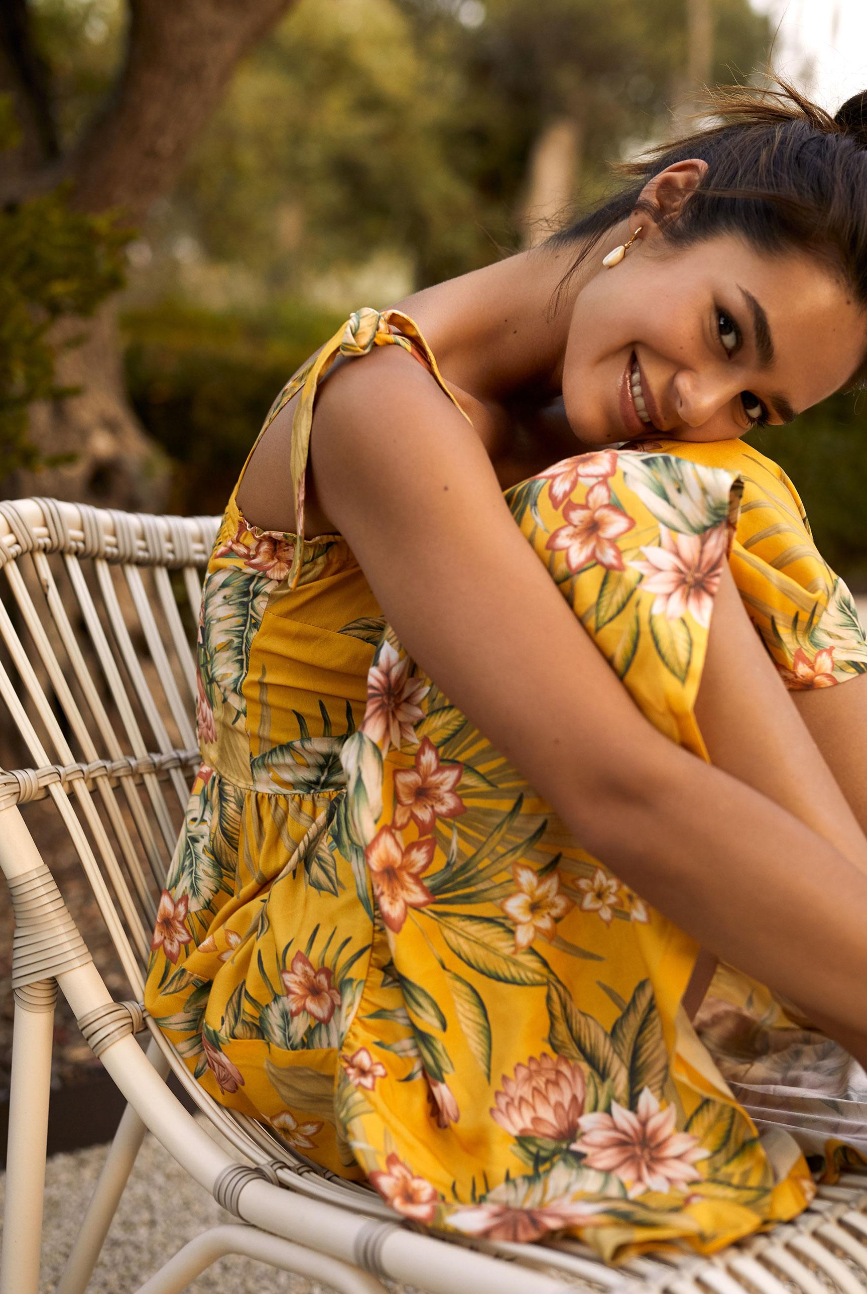 Наринэ Матецкая в купальниках и пляжной одежде BananaMoon, сезон весна-лето 2020 / фото 16