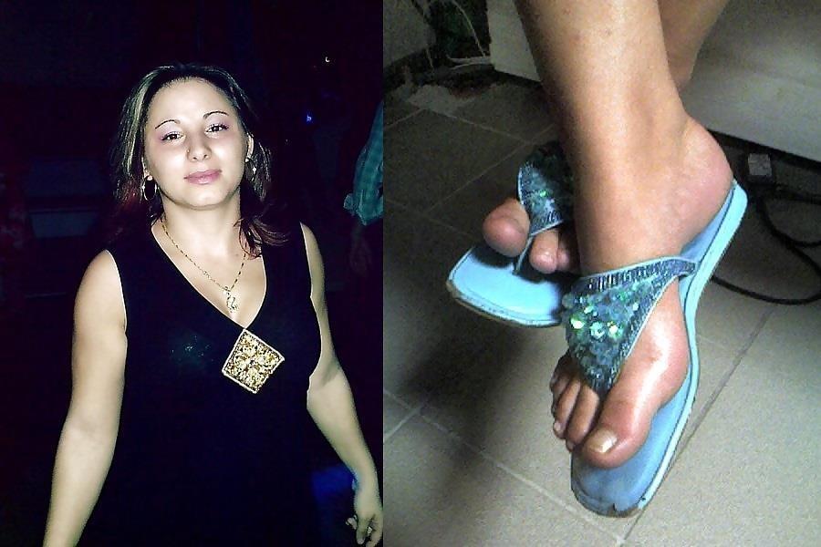 French girls feet worship-7001