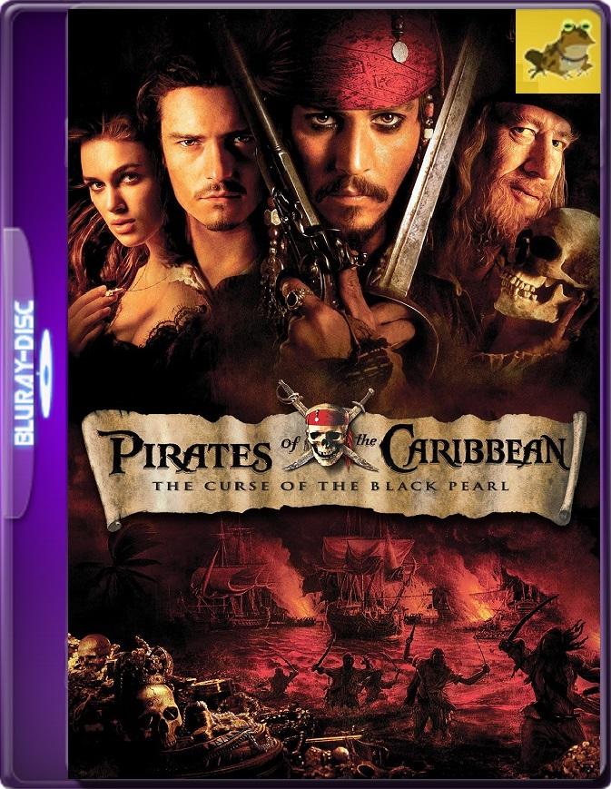 Piratas Del Caribe: La Maldición Del Perla Negra (2003) Brrip 1080p (60 FPS) Latino / Inglés
