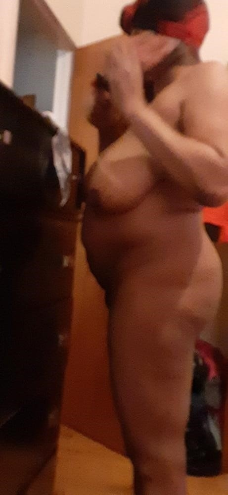 Fat black booty naked-7740