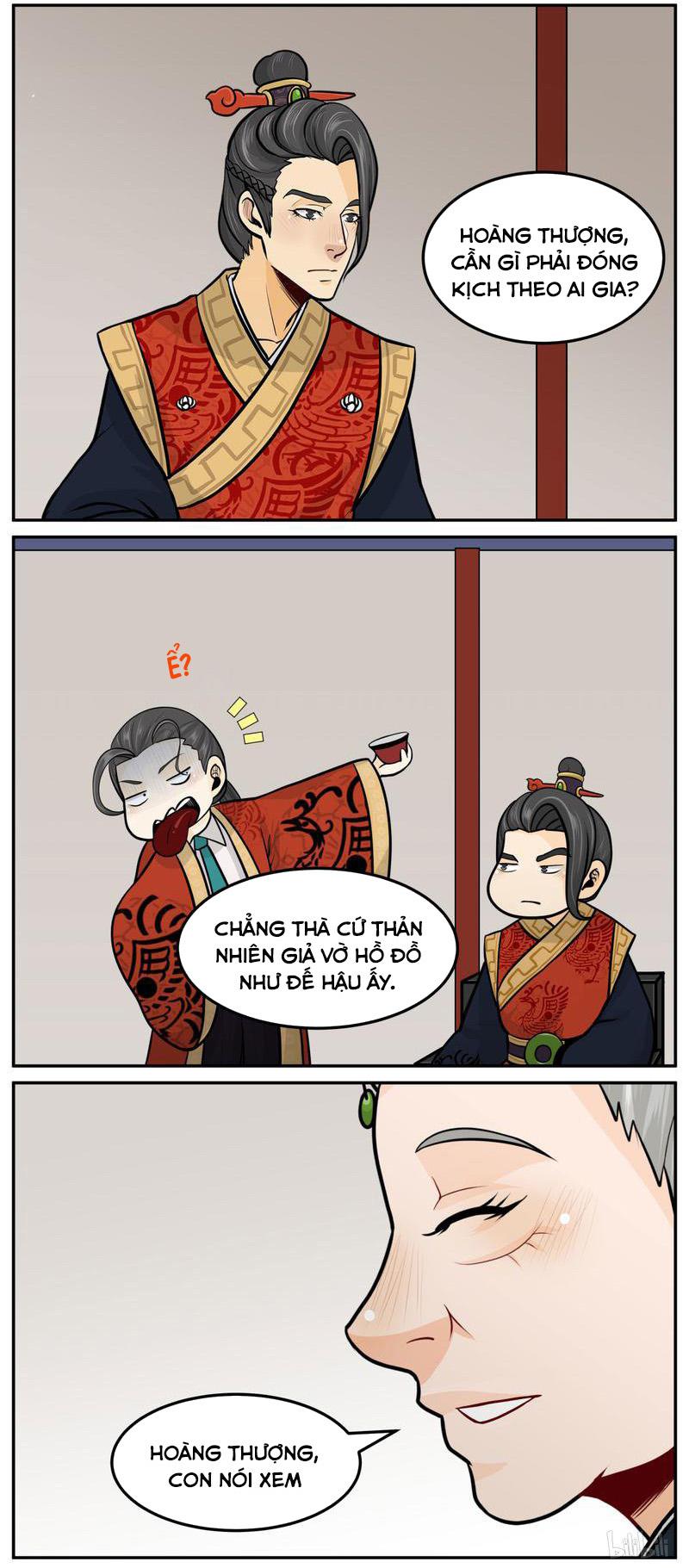 Hoàng Thượng Pê-đê - Hãy Tránh Xa Ta Ra Chap 340 . Next Chap Chap 341