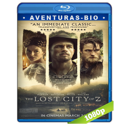 Z La Ciudad Perdida (2016) BRRip Full 1080p Audio Trial Latino-Castellano-Ingles 5.1
