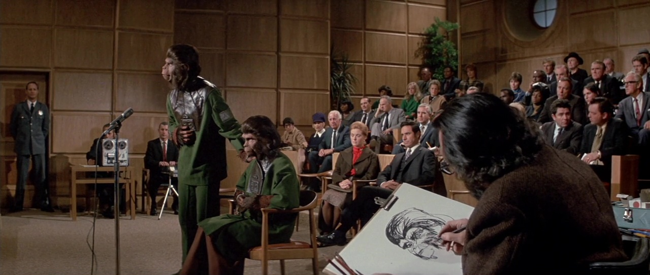 Escape Del Planeta De Los Simios 720p Lat-Cast-Ing 5.1 (1971)