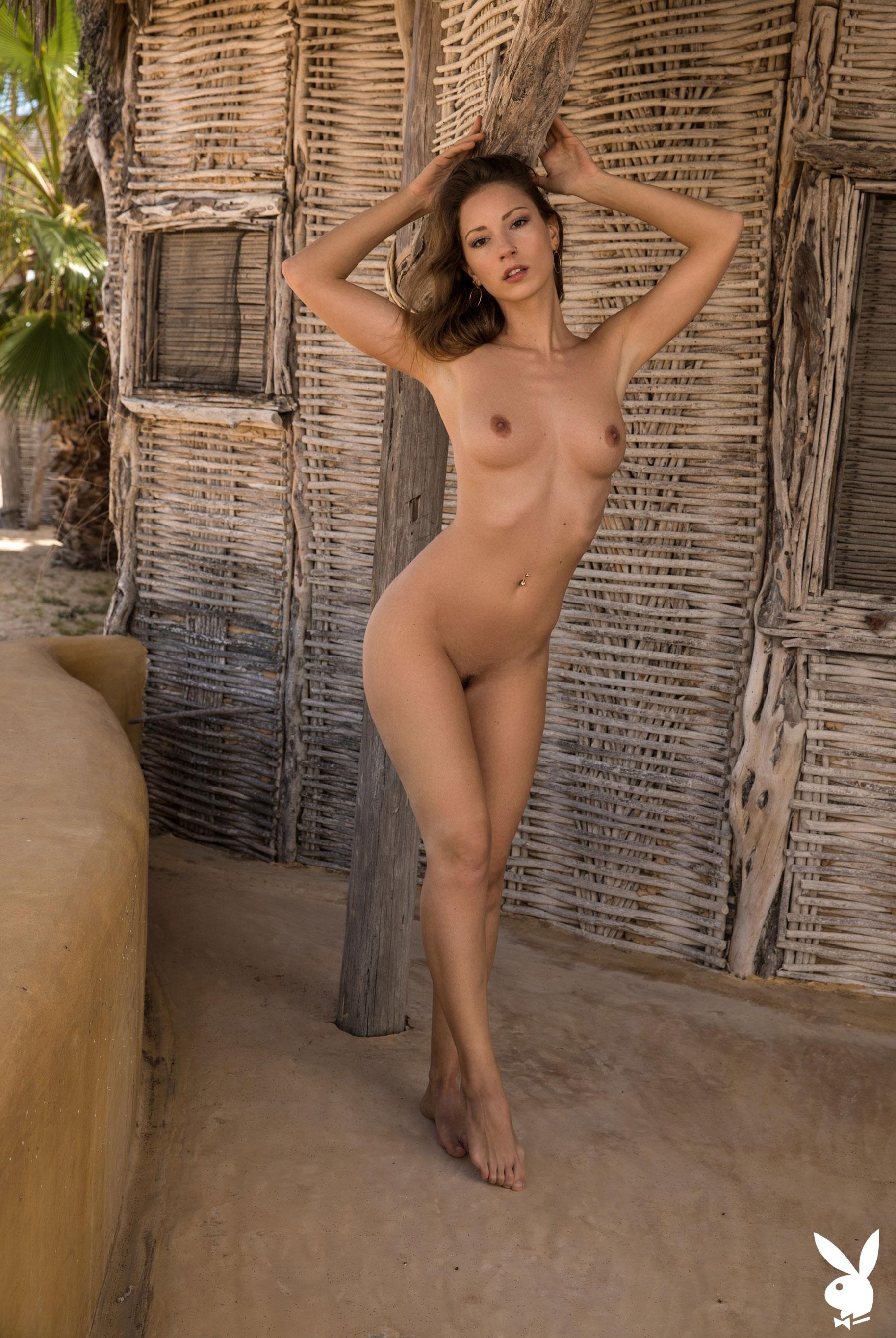 Отдыхаем на мексиканском пляже с сексуальной моделью Playboy / фото 15