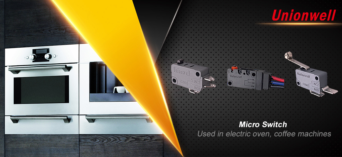 Huizhou Unionwell Technology Co., Ltd Introduces Modern Micro-Switches With Different Designs And Colors For Various Using