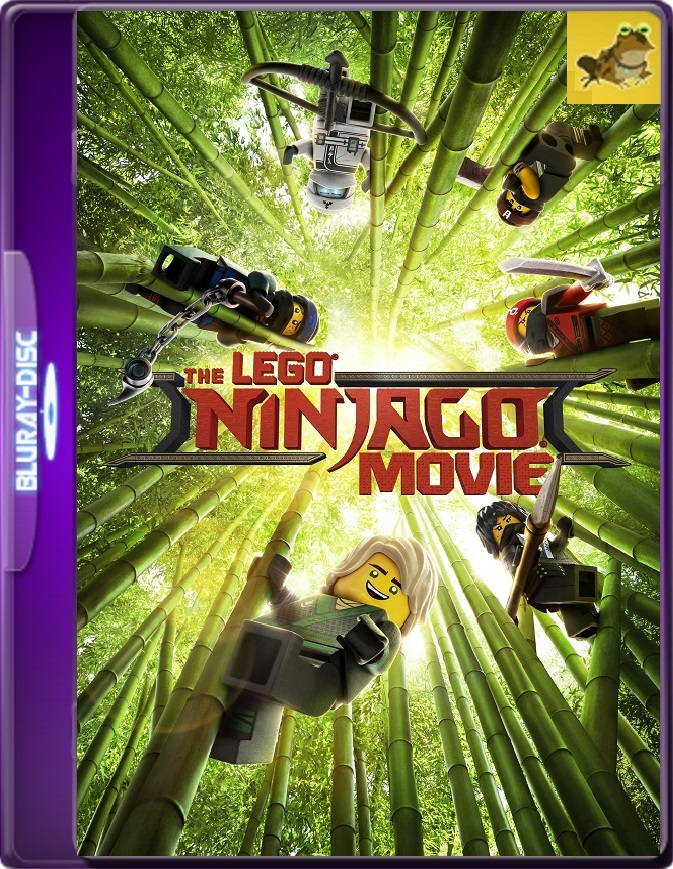 Lego Ninjago: La Película (2017) Brrip 1080p (60 FPS) Latino