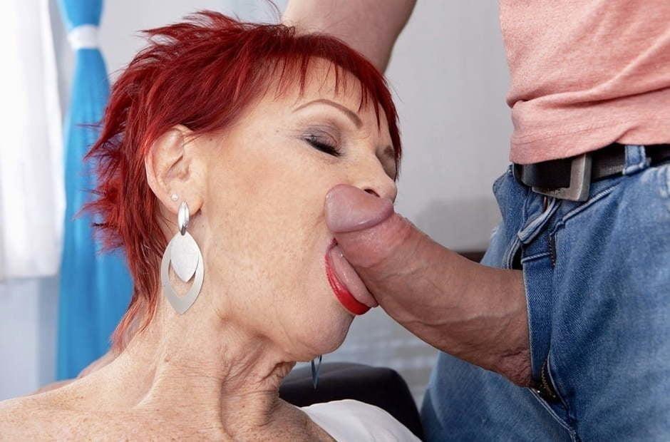 Blowjob granny pics-5906