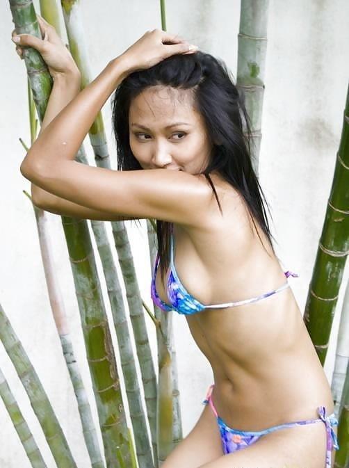 Sexy asian girl bikini-9732