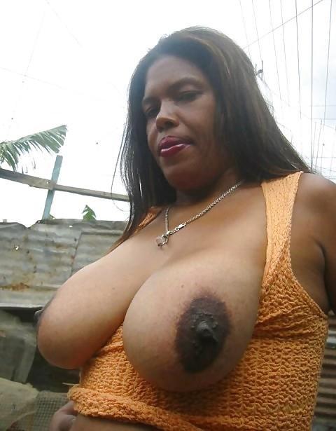 Big black tits sex-6101