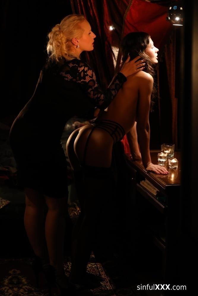 Hot passionate threesome-9897
