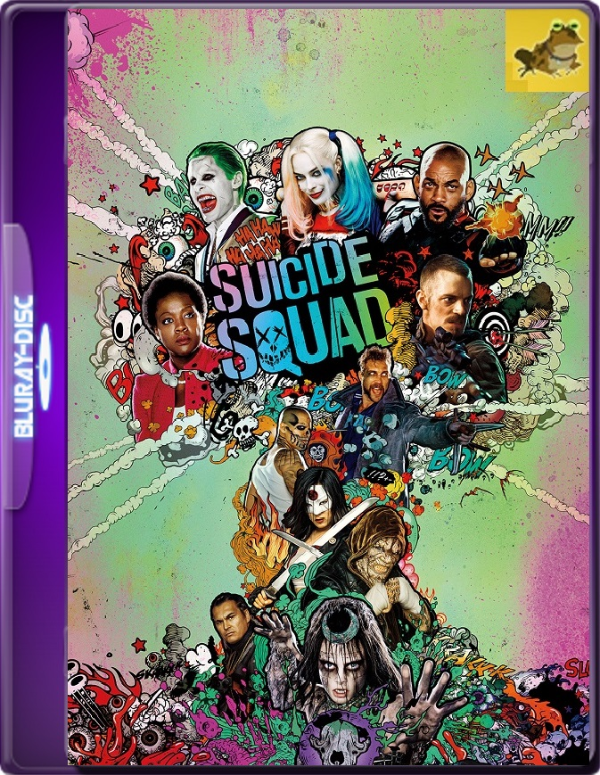 Escuadrón Suicida (2016) Brrip 1080p (60 FPS) Latino / Inglés