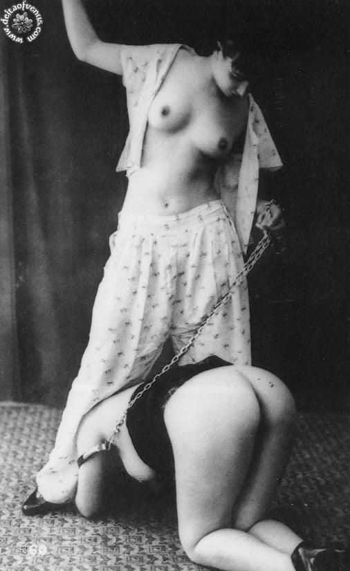 Vintage hairy nude-2631