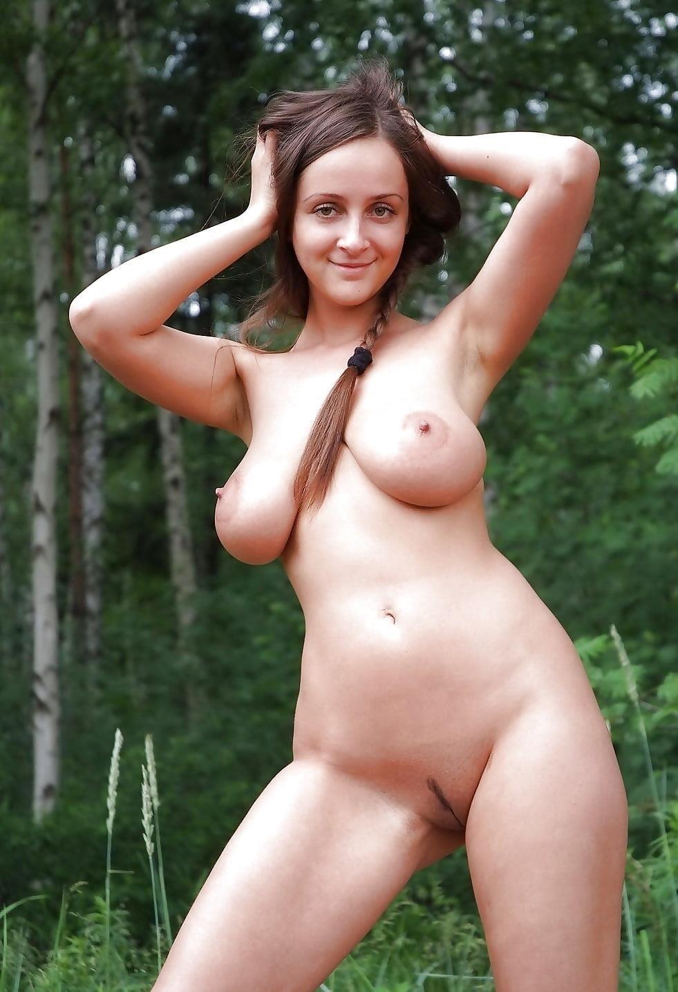 Busty public nudity-8738