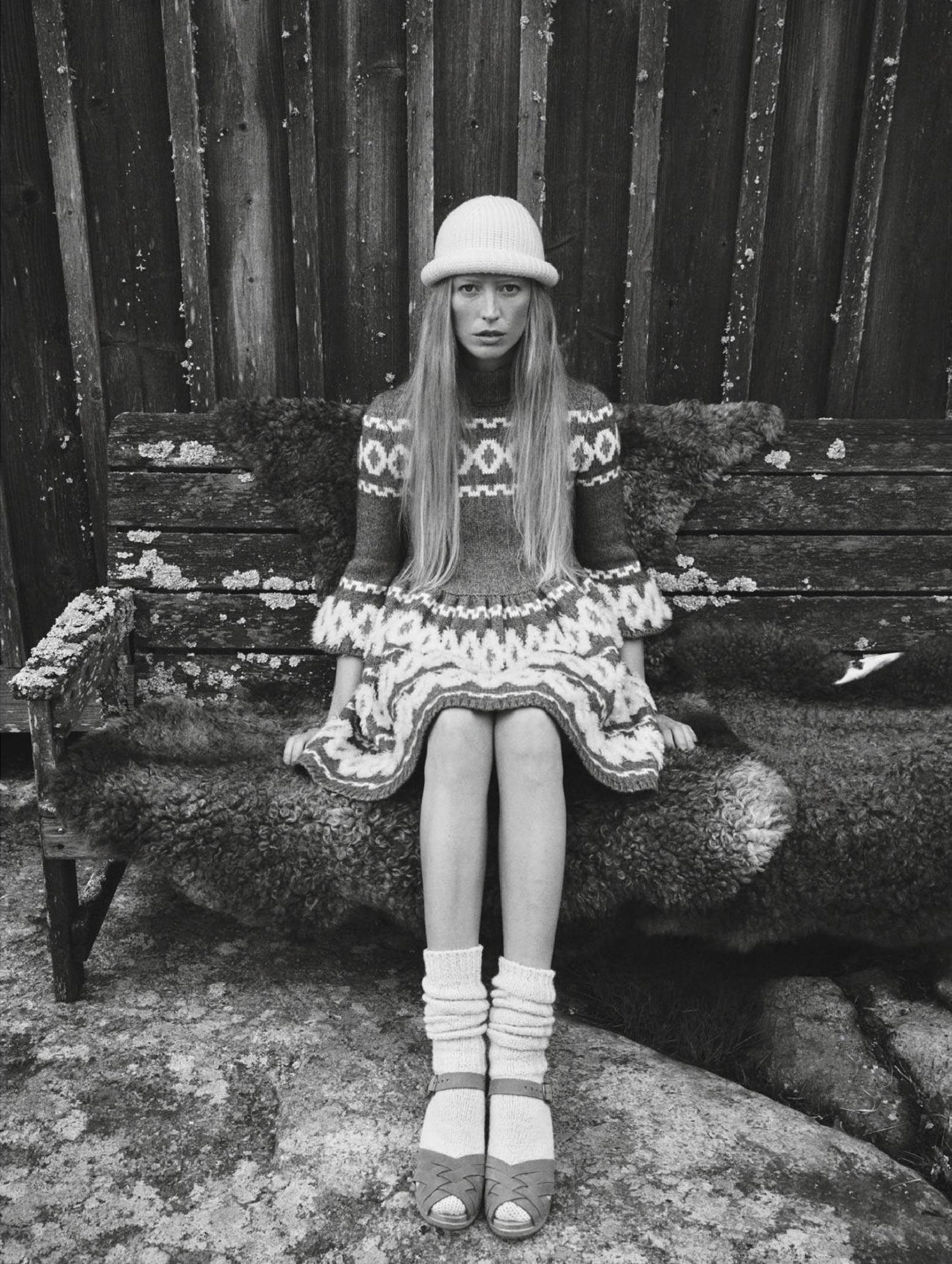 Бразильская модель в гостях у шведской - Эрика Линдер и Ракель Циммерман / фото 20