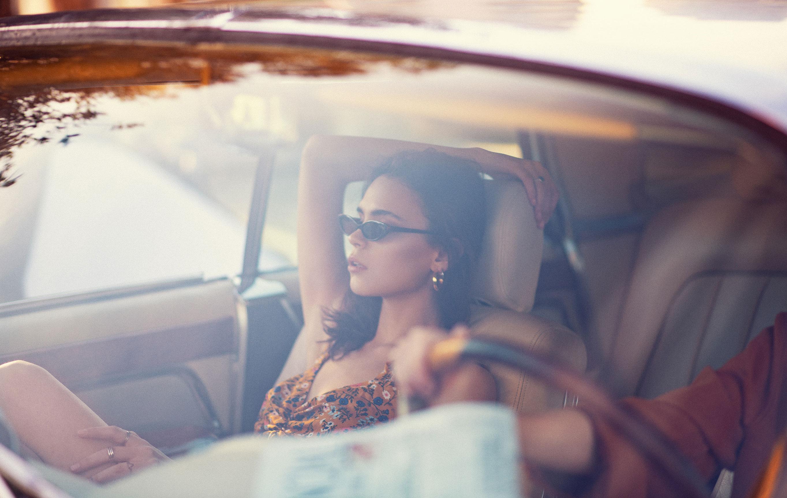 Диана Катова с подругой совершают автопробег по пустыне / фото 11