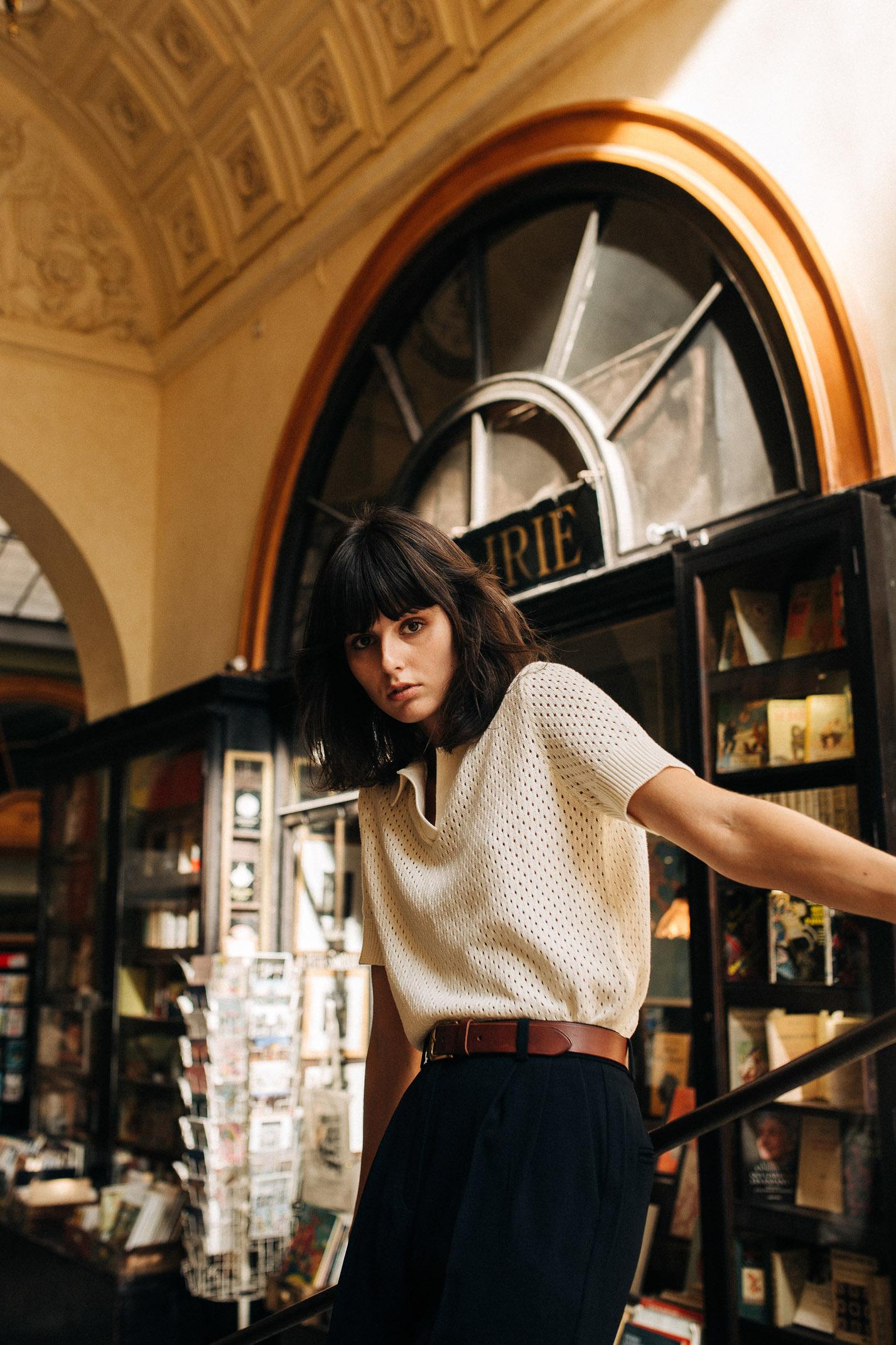 прогулка по парижской торговой галерее с Жустин Соранзо / фото 04