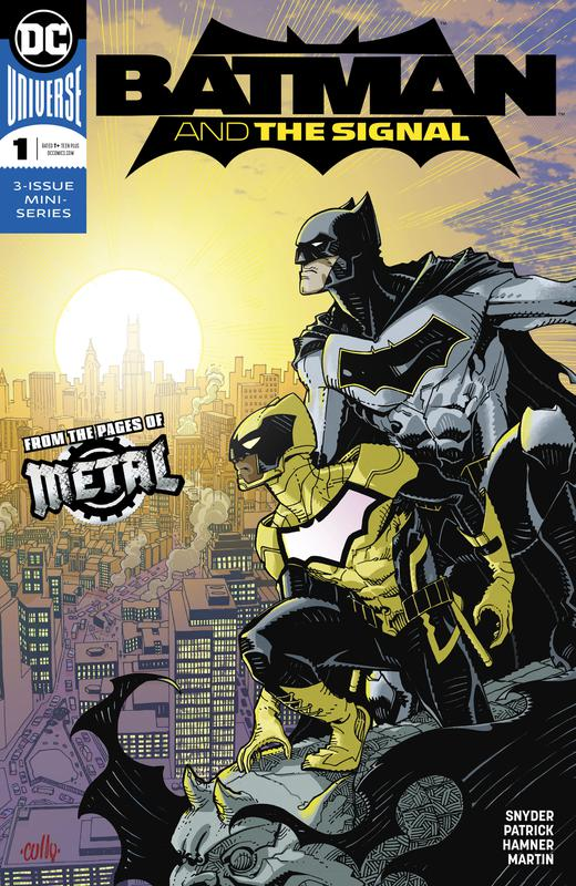 Batman & the Signal #1-3 (2018) Complete