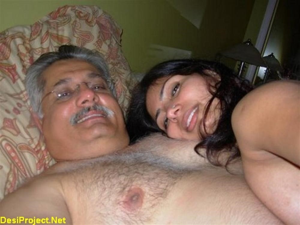 Japanese girl with old man-4311