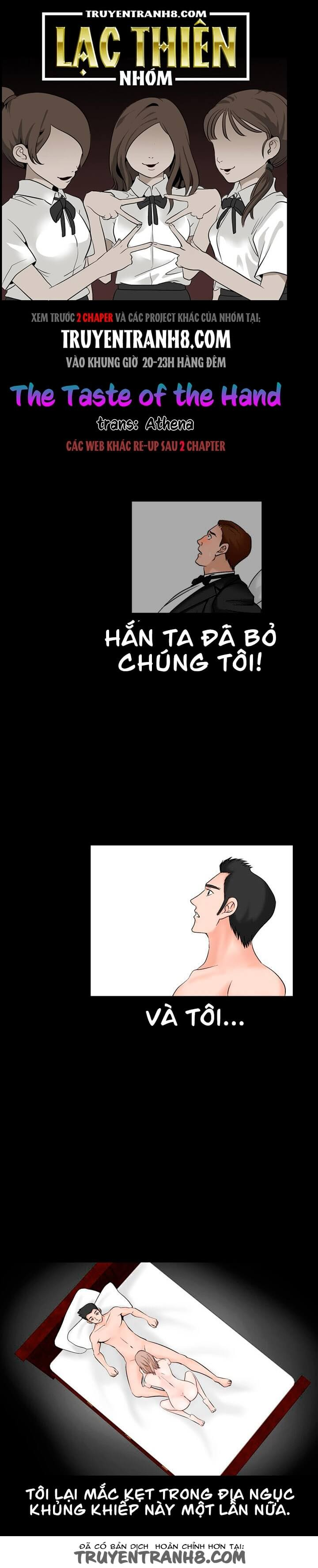 The Taste Of The Hand Chapter 34 - Trang 2