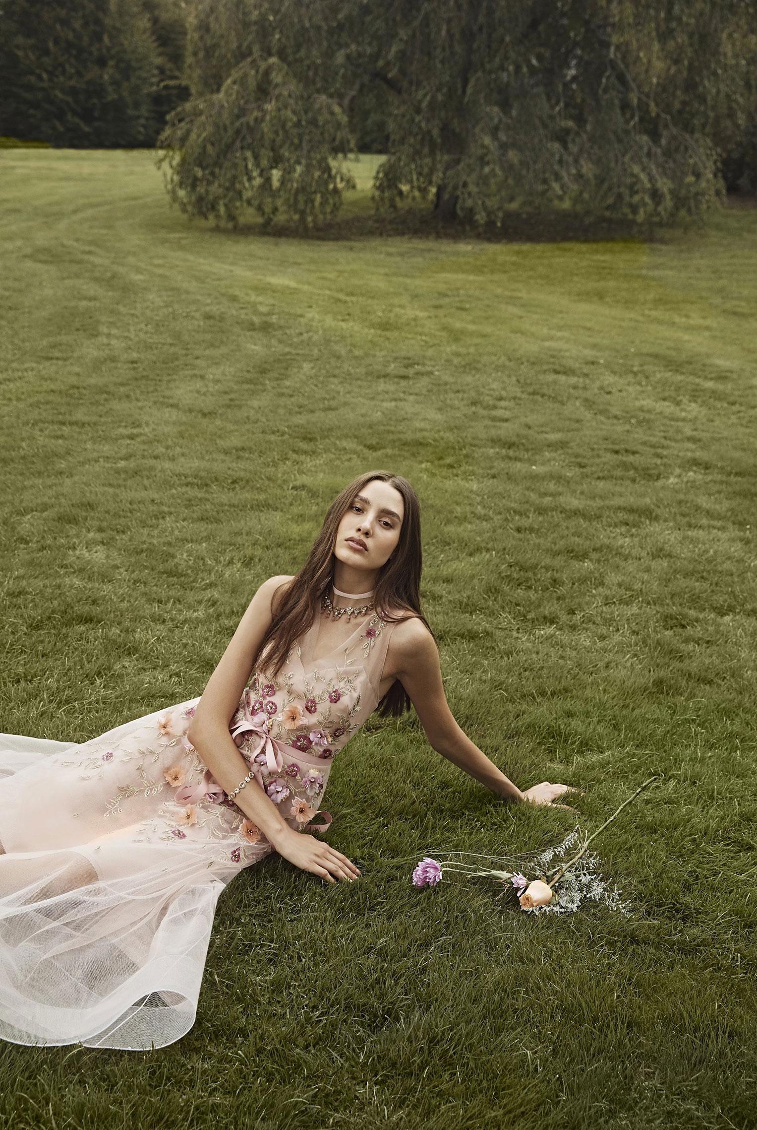 Коллекция модной одежды Marchesa, сезон весна-лето 2020 / фото 22