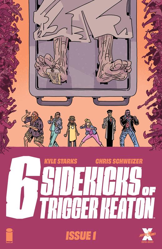 Six Sidekicks of Trigger Keaton #1-4 (2021)