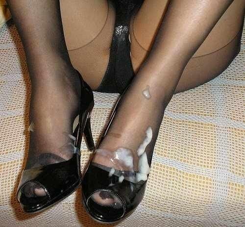Nylon feet porn-9929