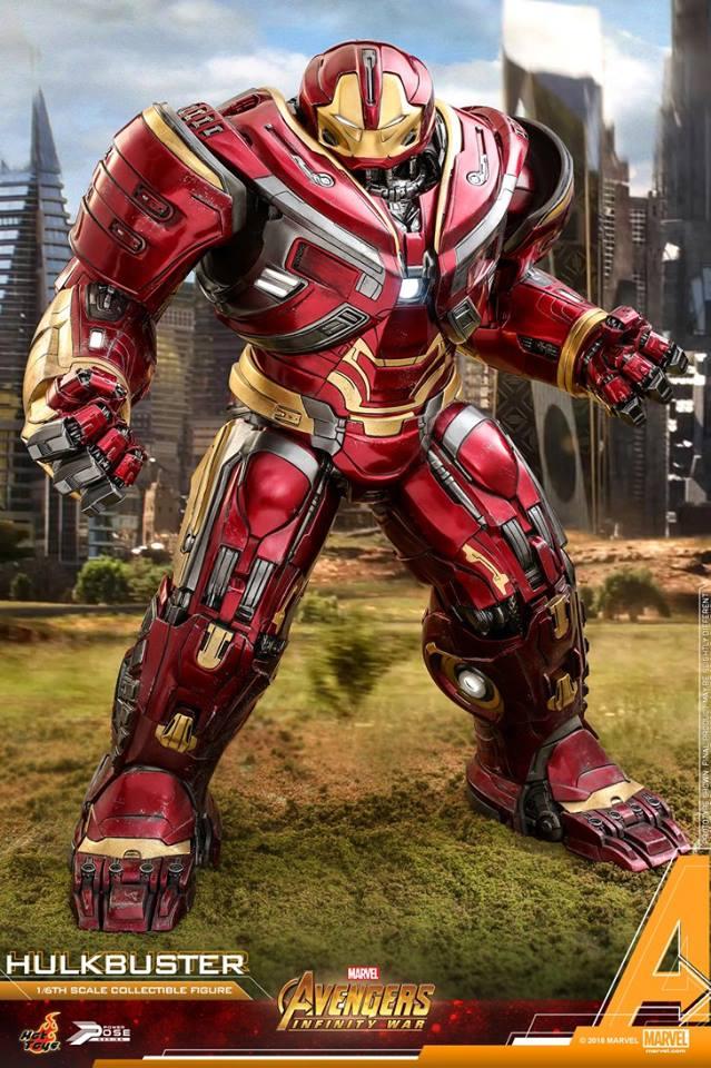 Avengers Infinity War - HulkBuster Mark 2 1/6 (Hot Toys) WKx2fxV0_o