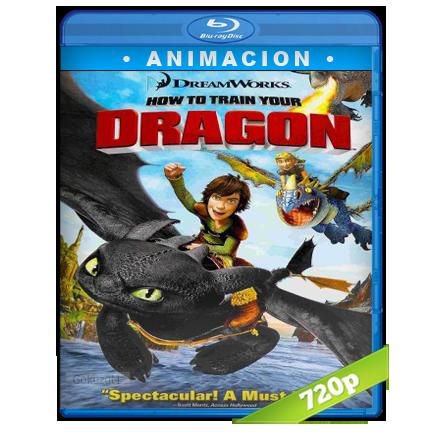 Como Entrenar A Tu Dragon 720p Lat-Cast-Ing[Animacion](2010)