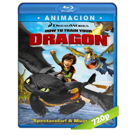 descargar Como Entrenar A Tu Dragon 720p Lat-Cast-Ing[Animacion](2010) gratis