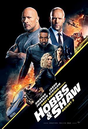 Fast & Furious Hobbs & Shaw (2019) Dual Audio Hindi 720p  Ray ESubs 1GB