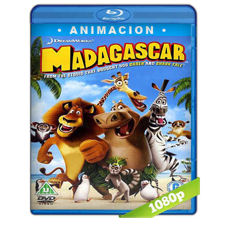 Madagascar (2005) BRRip Full 1080p Audio Trial Latino-Castellano-Ingles 5.1