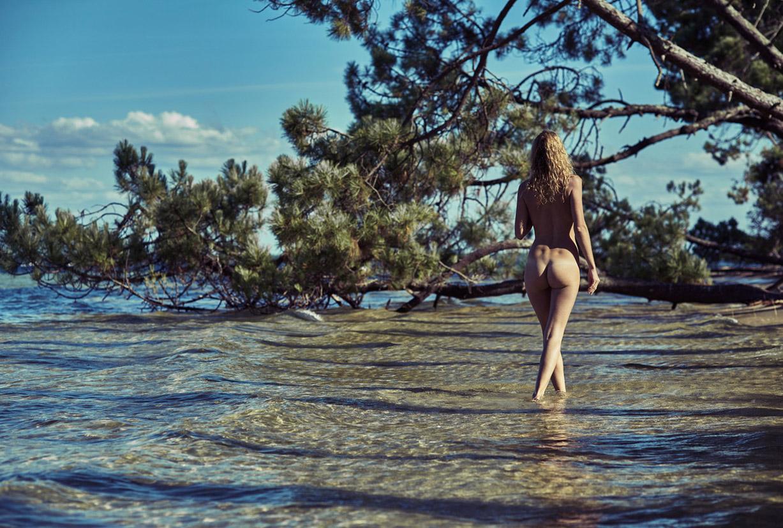 Clarisse Marguaritte nude by Emmanuel Grignon
