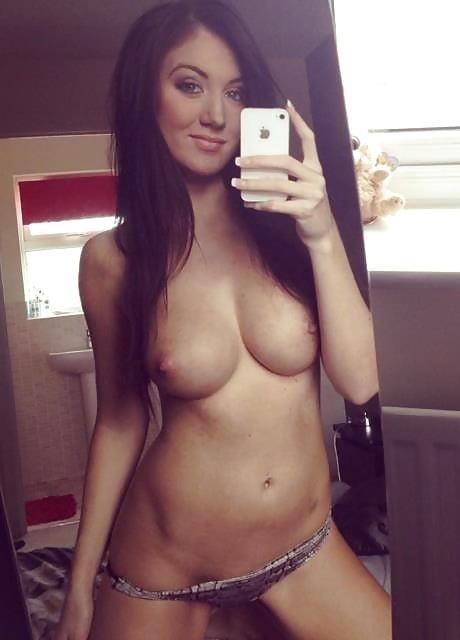 Big tits nude selfie-6701