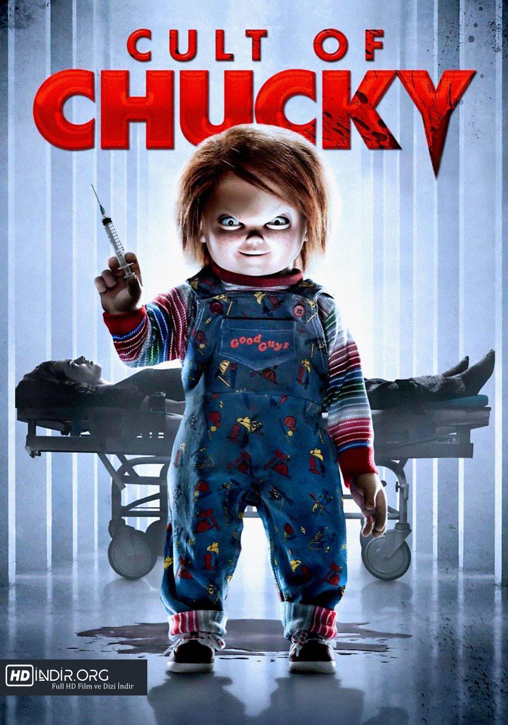Chucky Geri Dönüyor - Cult of Chucky (2017) Türkçe Dublaj BRRip HD indir