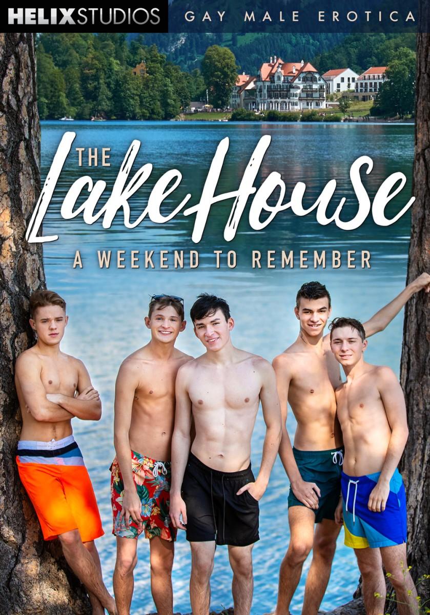 The Lake House: A Weekend to Remember + Bonus / Дом на озере: незабываемые выходные (Max Carter, Helix Studios) [2020 г., Twinks, Bareback, Oral, Anal, Big Dick, BlowJob, Rimming, DAP, Group, Masturbation, Cumshots, WEB-DL 1080p] [Split Scenes]