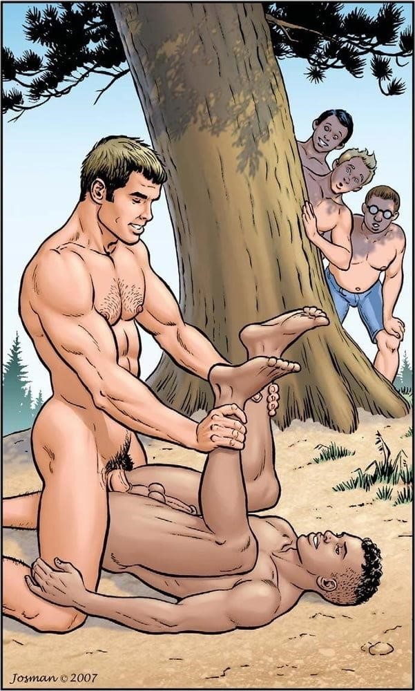 Dad son gay cartoon porn-9199