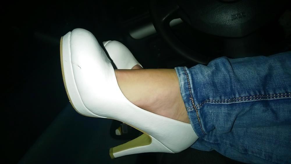 Lesbian foot fetish nylon-7199