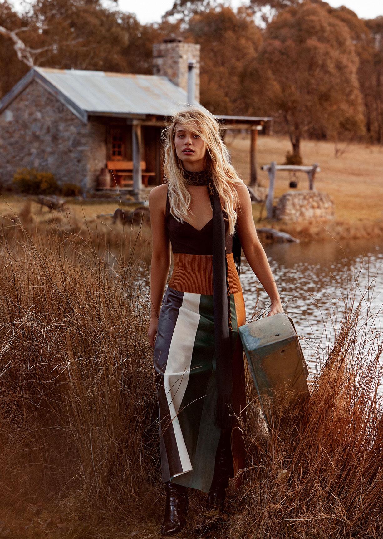 Готовимся к осени с фотомоделью Хармони Белл / фото 10