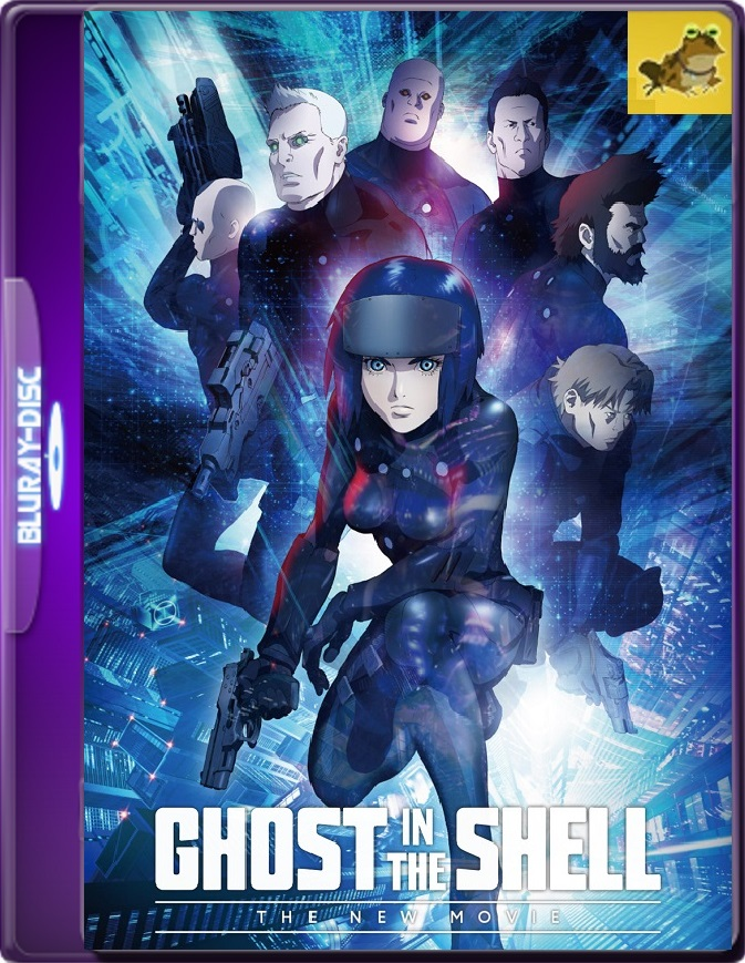 Ghost In The Shell: The New Movie (2015) Brrip 1080p (60 FPS) Japonés Subtitulado