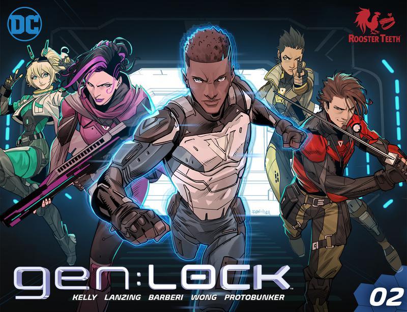 gen-Lock #1-8 (2019-2020)