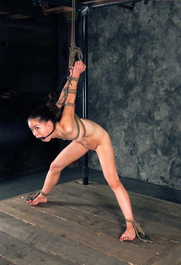 Asian bondage bukkake-6677