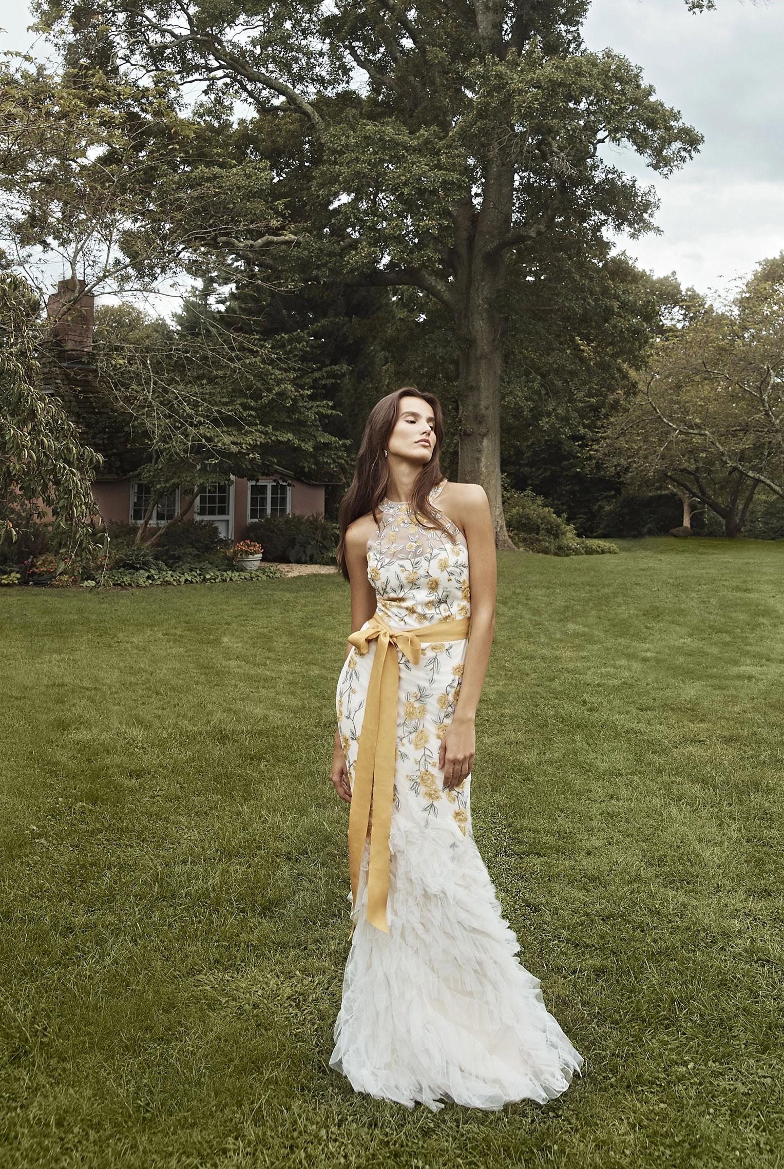 Коллекция модной одежды Marchesa, сезон весна-лето 2020 / фото 13