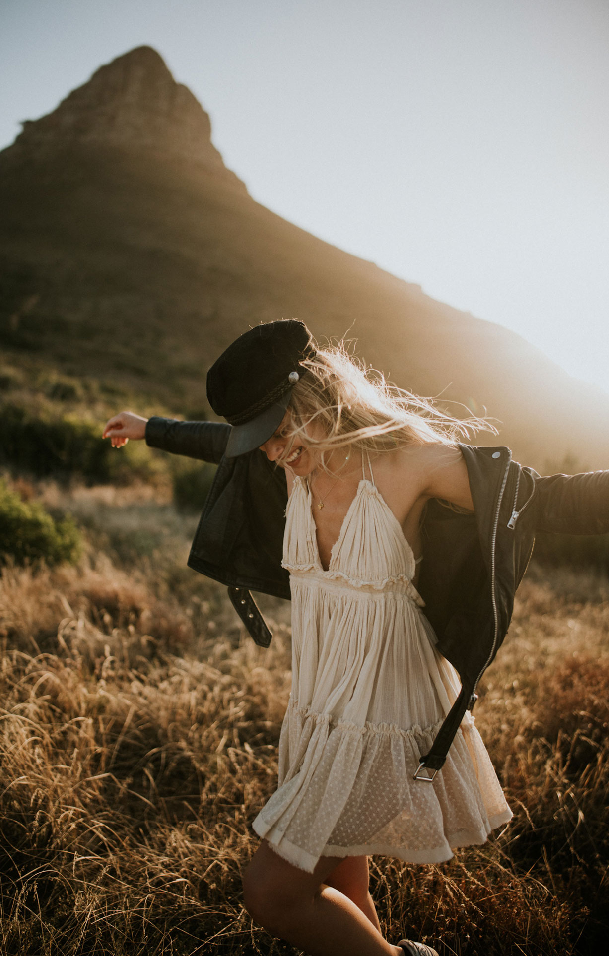 Природа Кейптауна / Sunset Ride in Cape Town / Leonie Jung by Anna Heupel
