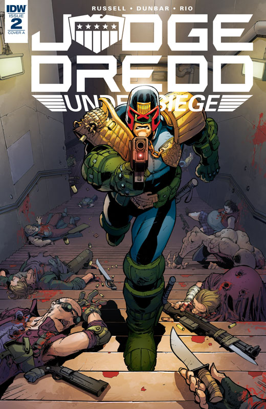 Judge Dredd - Under Siege #1-4 (2018) Complete