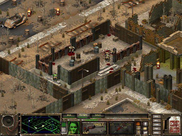 Fallout Tactics Captura 1