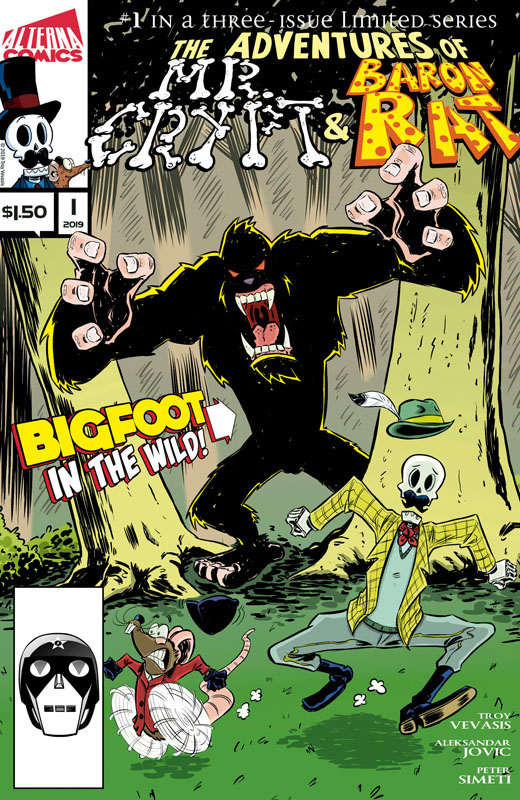 Mr. Crypt and Baron Rat #1-2 (2019)