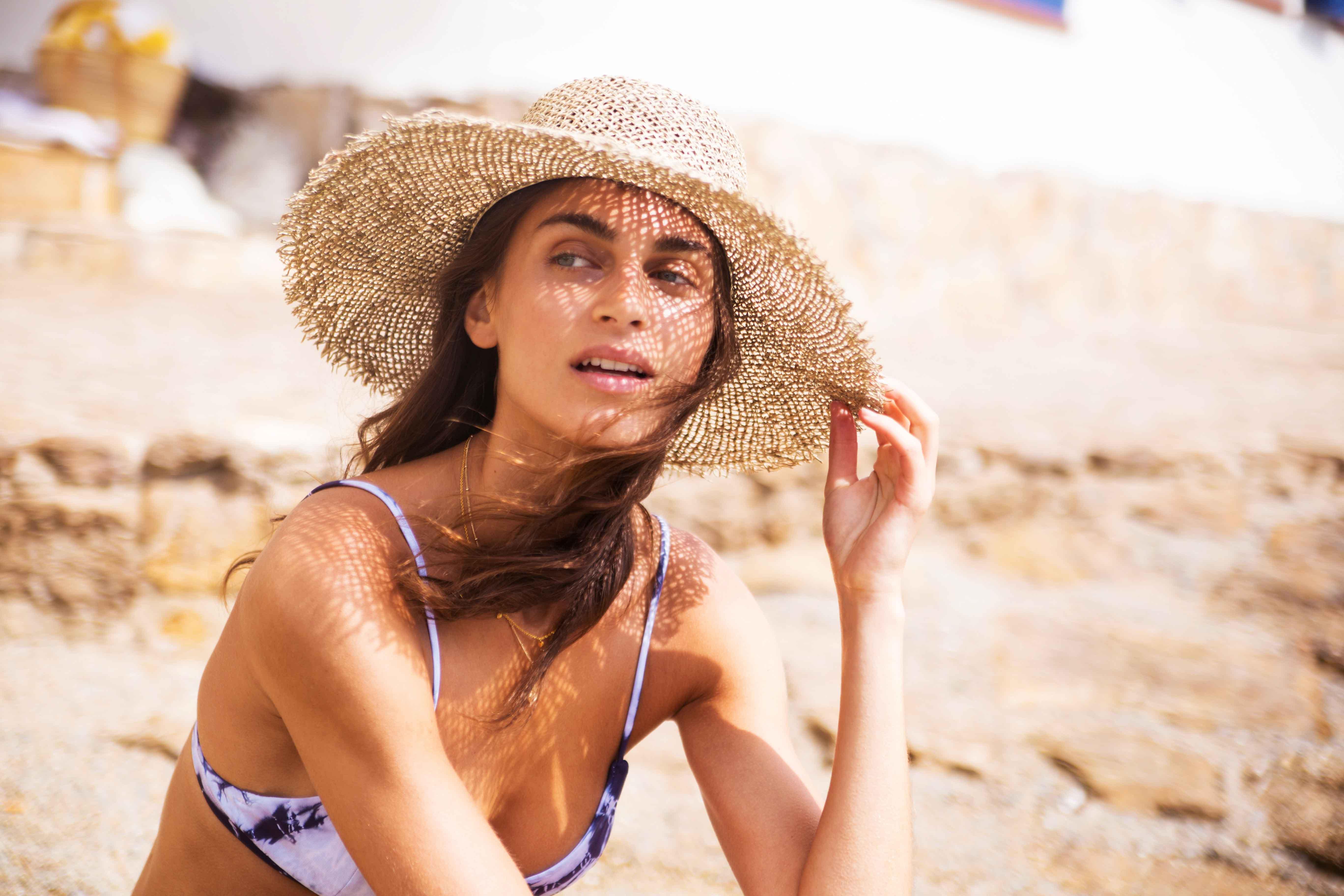 купальники Serendipity Swimwear 2019 Dolce Vita Collection - протестированы на Амальфийском побережье моделью Джулией Паллесен / Julie Pallesen by Carlotta Jurado