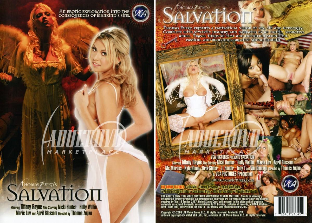 Salvation / Спасение (Thomas Zupko, VCA) [2005 г., Feature, History, All Sex, IR, Anal, A2M, Facial, DVDRip] + BTS (Holly Wellin, Marie Luv, Tiffany Rayne, April Blossom, Nicki Hunter, Kyle Stone, Tony T., Mr. Marcus, Kris Slater, Van Damage) ]