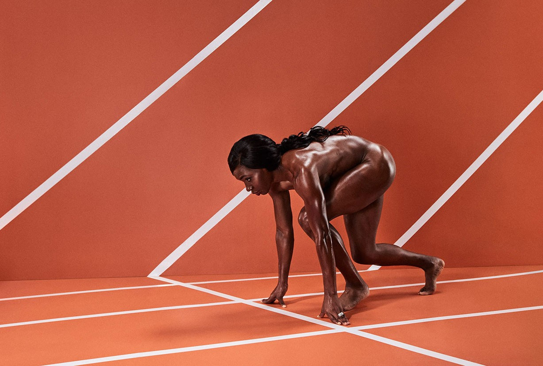 Novlene Williams-Mills - ESPN The Body Issue 2017 / photo by Marcus Smith